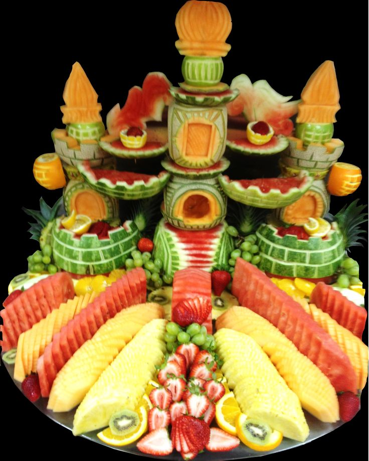 Best fruit frenzy images on pinterest carvings