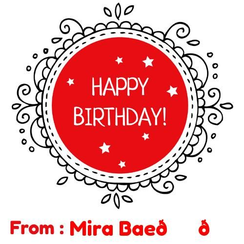 Write Name on Happy Birthday Greetings Cards Online Fre