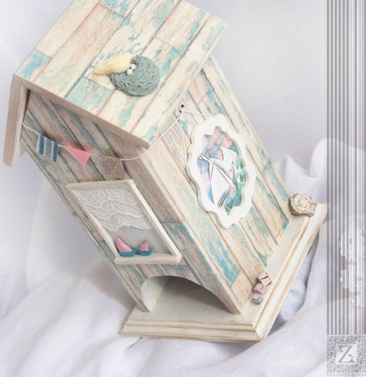 """Купить Чайный домик """"Морская резиденция Маленького Принца"""" - голубой, чайный домик"""