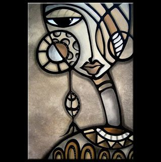 Pinturas Cuadros Cuadros Abstractos De Caras Femeninas Pinturas Abstractas Pinturas Rostros De Arte