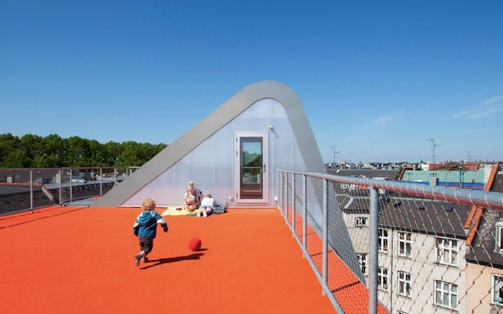 Rooftop Playground /JDS Architects / Copenhage