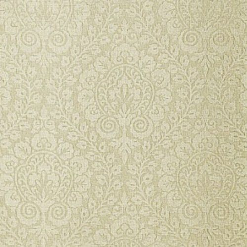 Schumacher AMALFI DAMASK GREIGE Fabric
