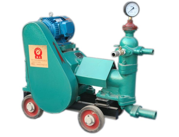 cement grout pump Plunger Type Cement Grout Pump for tunnel