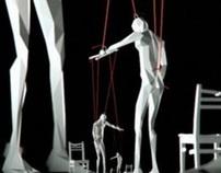 puppets by Victor Abramovskiy, via Behance