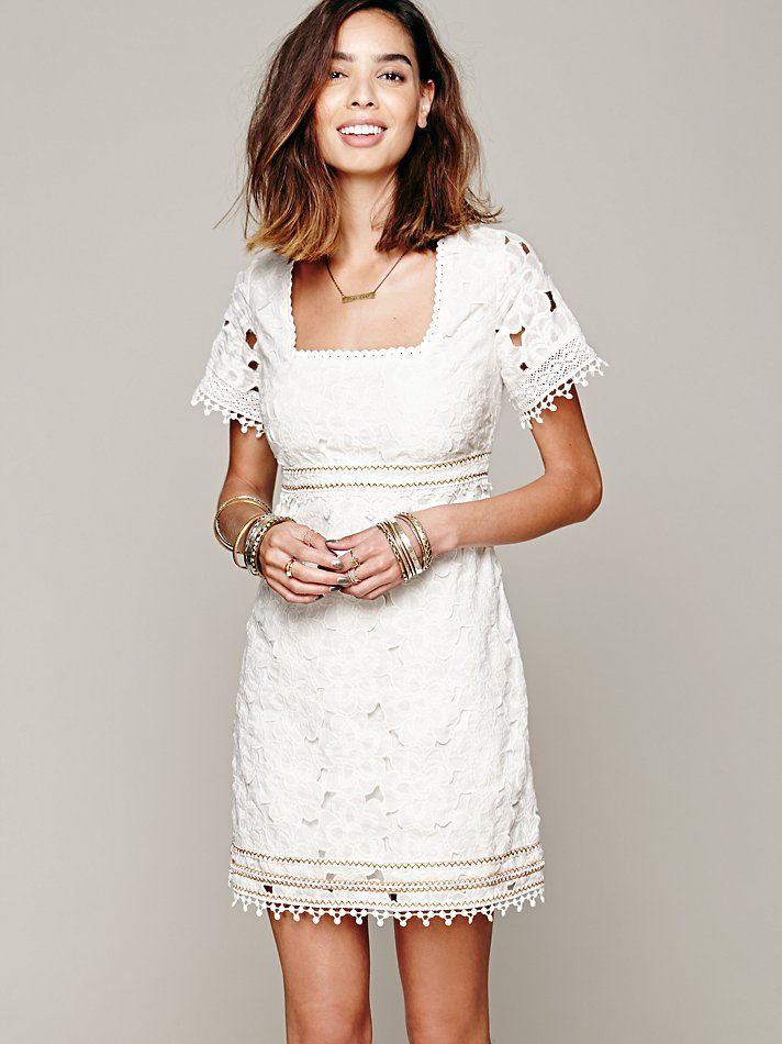 Free People I Dream Of Daisies Shift Dress, 198.00