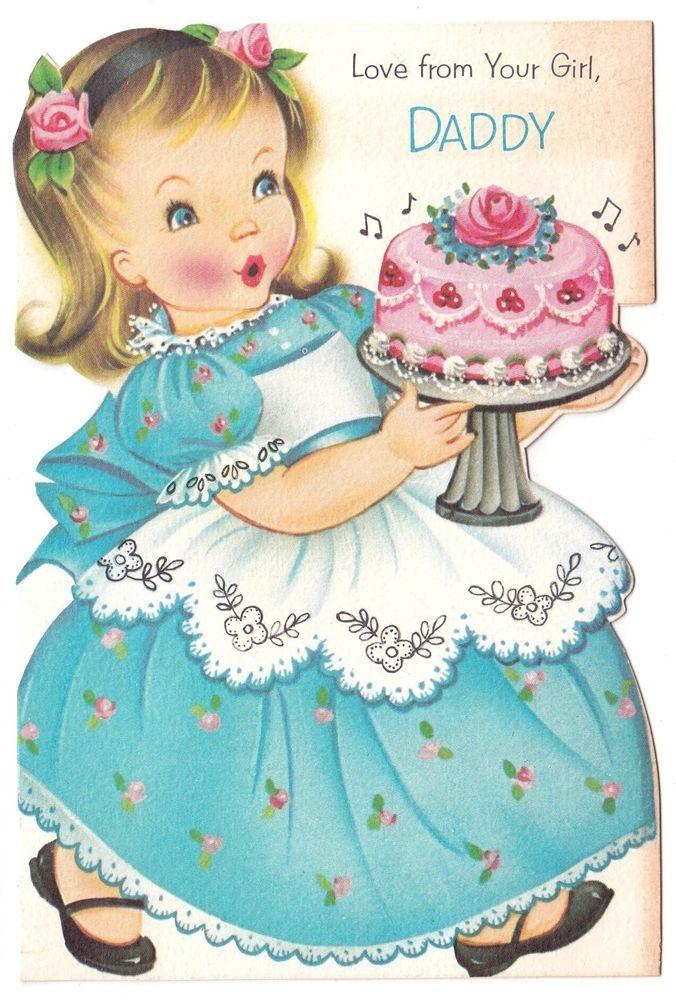 Birthday Little Girl Cake
