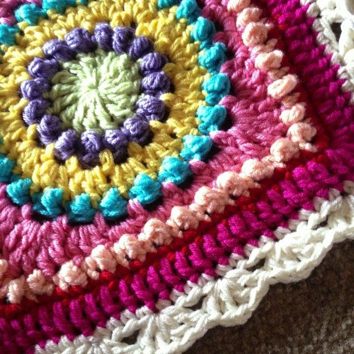 Shell lace border
