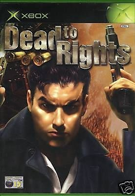 DEAD TO RIGHTS  XBOX  NUOVO!!!