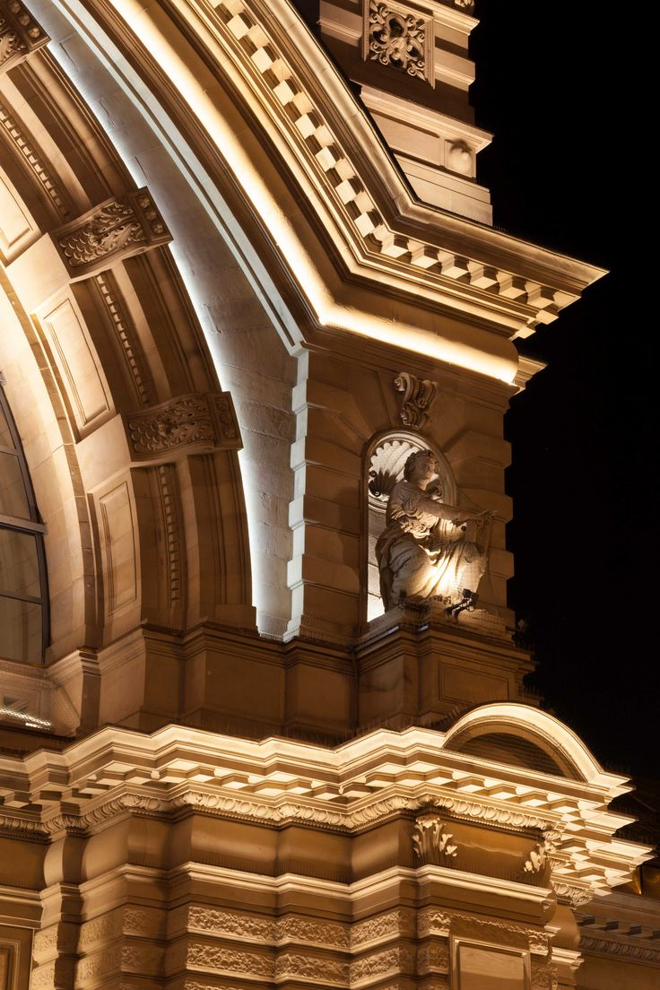 Main station Frankfurt, Germany - Lighting designer: Christian Uitz Raumlabor – Photographed by Gerhard Thomas Baier – Lighting products: iGuzzini Illuminazione #Lighting #Inspiration #iGuzzini