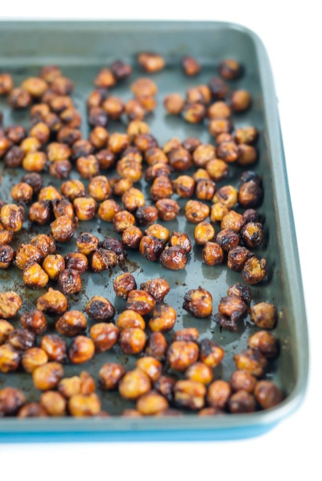 High protein, crunchy and super tasty these Honey & Mustard Roasted Chickpeas make for a perfect healthy snack. Chickpeas are a nutrient-dense food, which provide a rich content for protein, di…