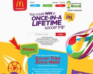 McDonald's 2014 Peel. Play. Ole, Ole
