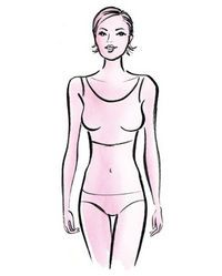 Being an inverted triangle shape doesn't sound very sexy, but with your strong shoulders, narrow hips and slim legs, it's considered to be one of the most desirable ...