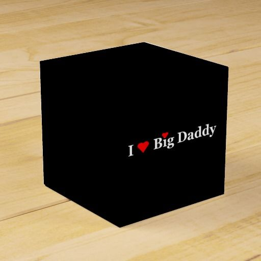 """I Heart Big Daddy"" Party Favor Box by khoncepts $2.85 each no minimum orders!"