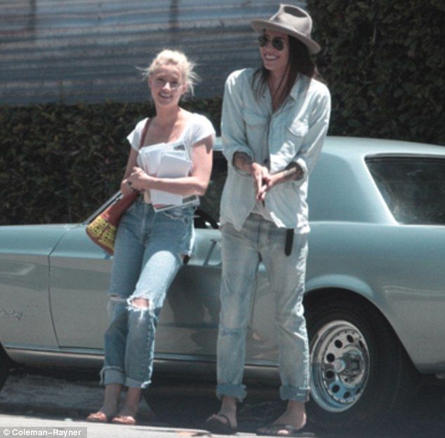 Amber Heard and girlfriend Tasya Van Ree together in LA, June 28th, 2012