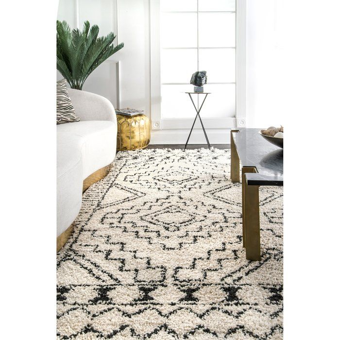 Lederer Off White Indoor Area Rug Reviews Joss Main Moroccan Style Rug Rugs On Carpet Stylish Rugs