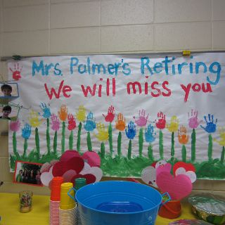 Teacher retiring party