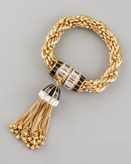 Bit Much...  Y16DV Rachel Zoe Tassel Bracelet: Tassels Bracelets, Gold Tassels, Style, Rachel Zoe Jewelry, Zoe Tassels, Baubles, Jewelry Collection, Accessories, Tassel Bracelet