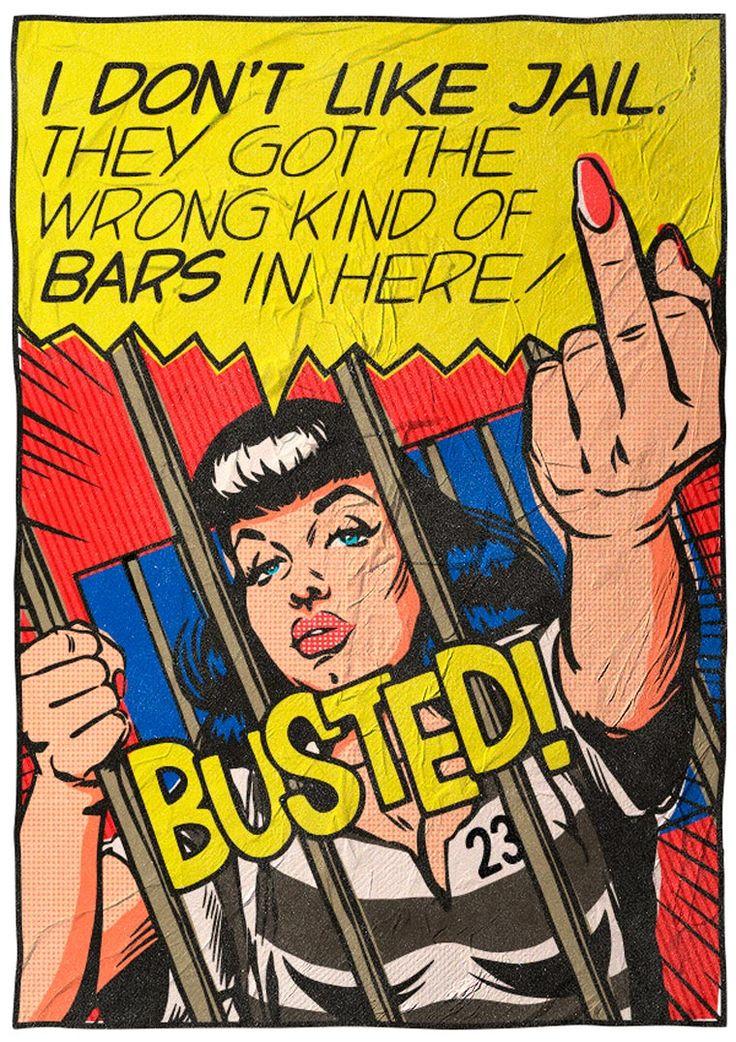 Quand Bukowski rencontre le Pop Art (image)
