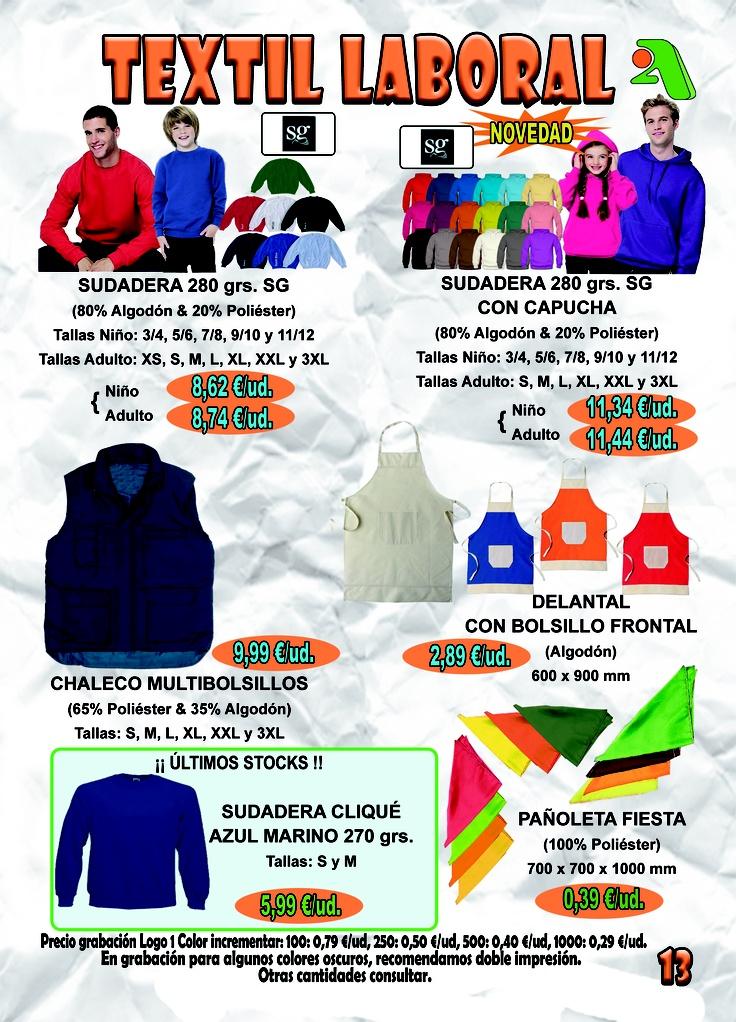 TEXTIL LABORAL - Página 13 — en 2A Promociones Publicitarias.