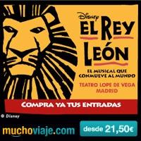 Entradas para Musicales - EL REY LEÓN, el musical que conmueve al mundo en MADRID encuéntralo en MUCHOVIAJE.