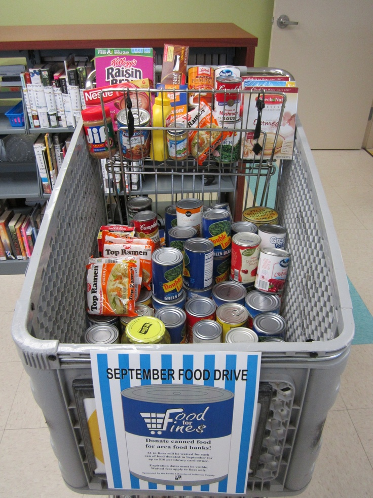 Grocery Cart for Food For Fines!: Libraries Happen, Grocery Carts