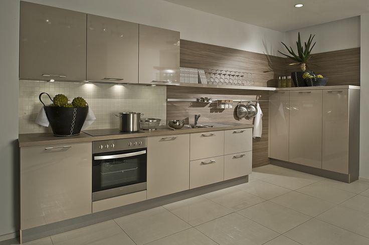 Een ontwerp van een moderne keuken