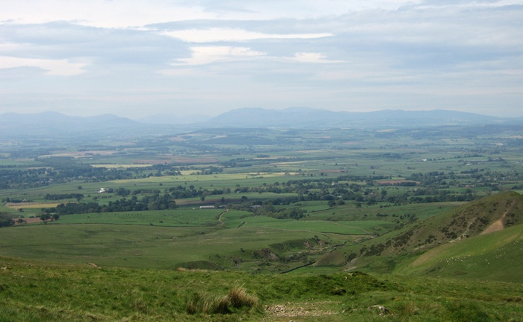 The Vale of Eden - some of my ancestors came from this area east of the Lake District.