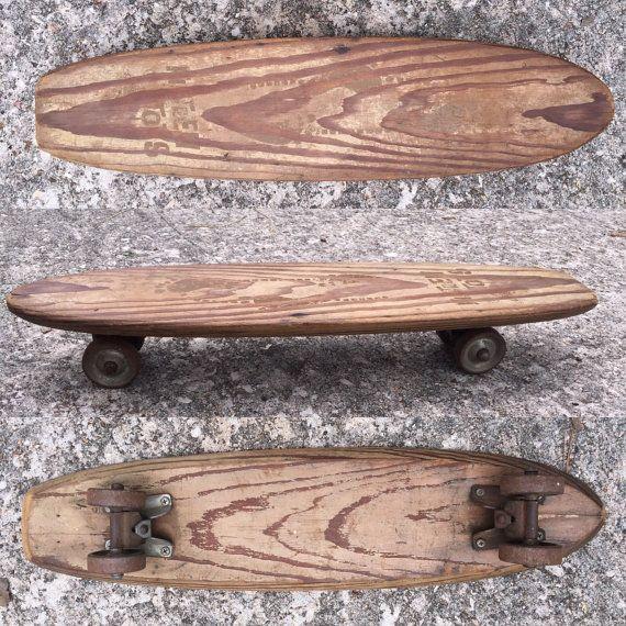 1960s Vintage Nash Skateboard Fifteen Toes Model Sidewalk Surfboard