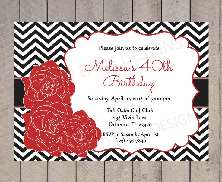 25 best Momu0027s 90th BDay images on Pinterest 90th birthday - birthday invitation for adults