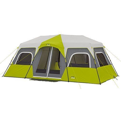 12 Person Outdoor Cabin Camping Tent 18 x 10 Family Large Tent Fishing Hiking #12PersonCabinCampingTent #Cabin