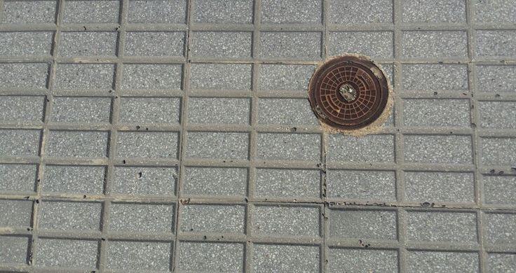 Un espai regular amb un objecte en un dels punts de terços