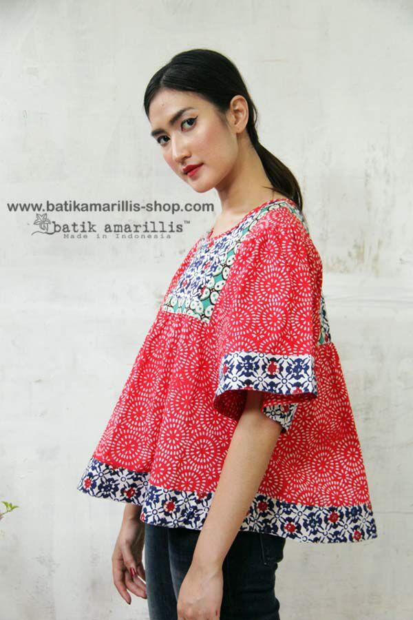 Batik Amarillis's Sweet Bohemian Blouse Available at Batik Amarillis webtore http://batikamarillis-shop.com started on September 13 around 15 pm !!