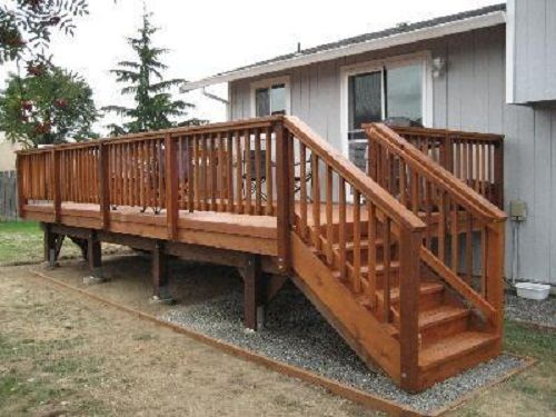 Deck Railing Design Ideas deck railing horizontal tubes Deck Stair Railing Design Ideas Check Out More Deck Railing Ideas Httpawoodrailing