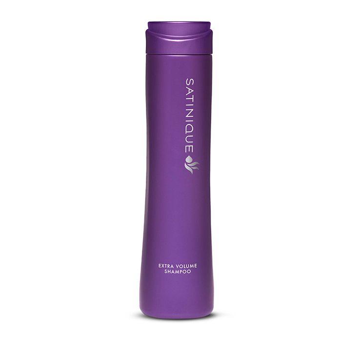 SATINIQUE™ Volumen-Shampoo.     Gibt dem Haar neue Fülle     Ideal für feines, dünnes oder kraftloses Haar Das Haar sieht voll und k räftig aus* • Reduziert statische Aufladung • Schützt vor Volumenverlust bei feuchtem Wetter** • Sorgt für fülligeres Haar bis zu 37%** – den ganzen Tag lang   ->  http://www.amway.de/unsere-marken/satinique
