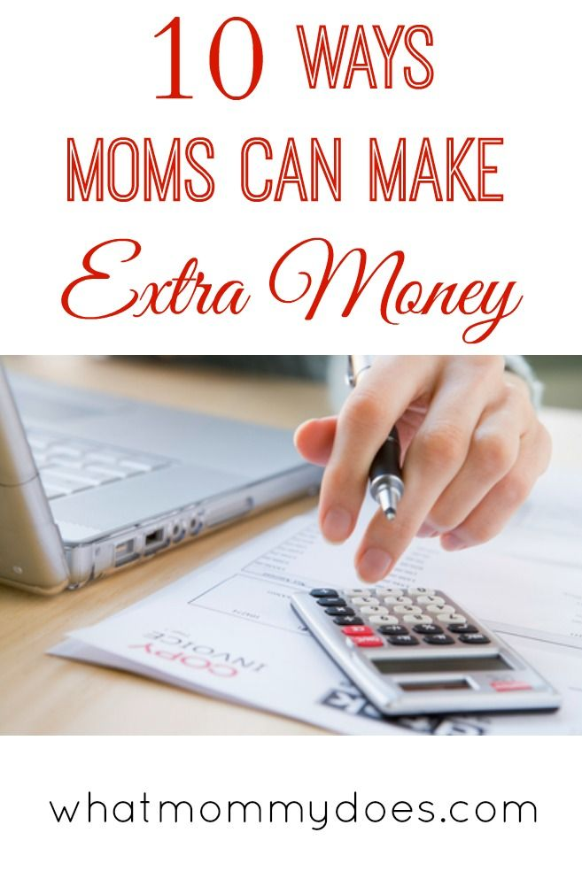 As a stay at home mom who doesn't want to go back to work full time, I'm always trying to think of ways to make money on the side. Here are 10 mom home business ideas, ways to make a little bit of extra income on the side.