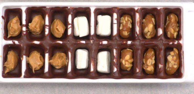 Ice Cube Tray Chocolates   TipHero