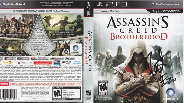 Roger Craig Smith as Ezio Auditore da Firenze in Assassins Creed: Brotherhood