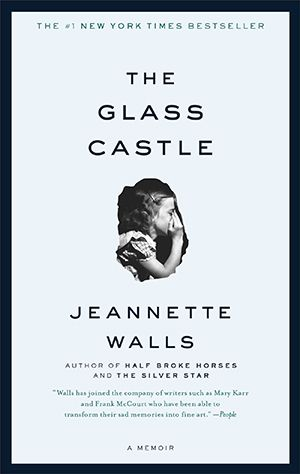 The Glass Castle by Jeannette Walls When I asked for reading suggestions at the end of my last book club chat, many of you said The Glass Castle. It's the memoir of a girl growing up in a very eclectic and cash-strapped family.