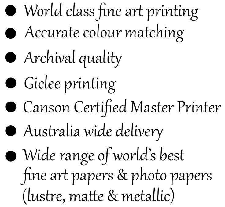 Giclee printer sydney