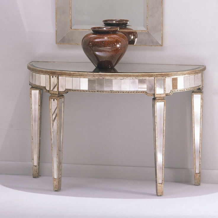 Entrance Tables And Mirrors 53 best mirrored furniture images on pinterest   mirrored
