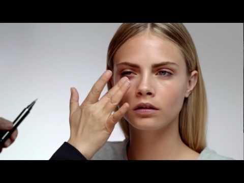 Festival Look - Burberry Beauty Tutorial ft. Cara Delevingne