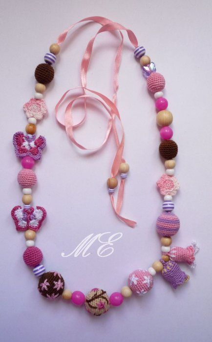 crochet beauty jewelry | make handmade, crochet, craft