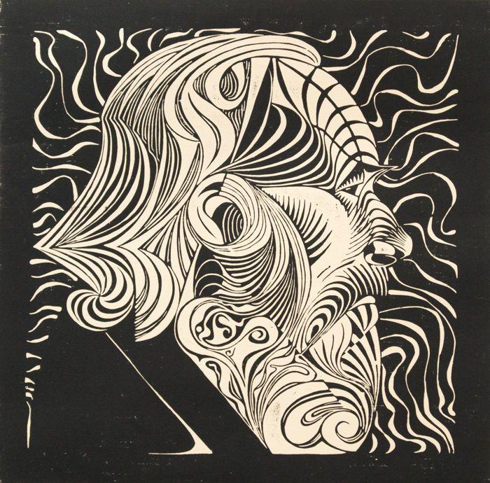 Mc Escher 1898 1972 Portrait Of A Man Bool 51