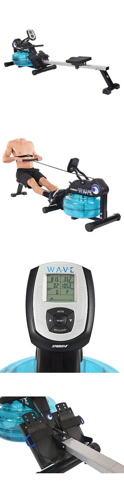 Rowing Machines 28060: Stamina 1450 Wave Water Rowing Machine -> BUY IT NOW ONLY: $699 on eBay!