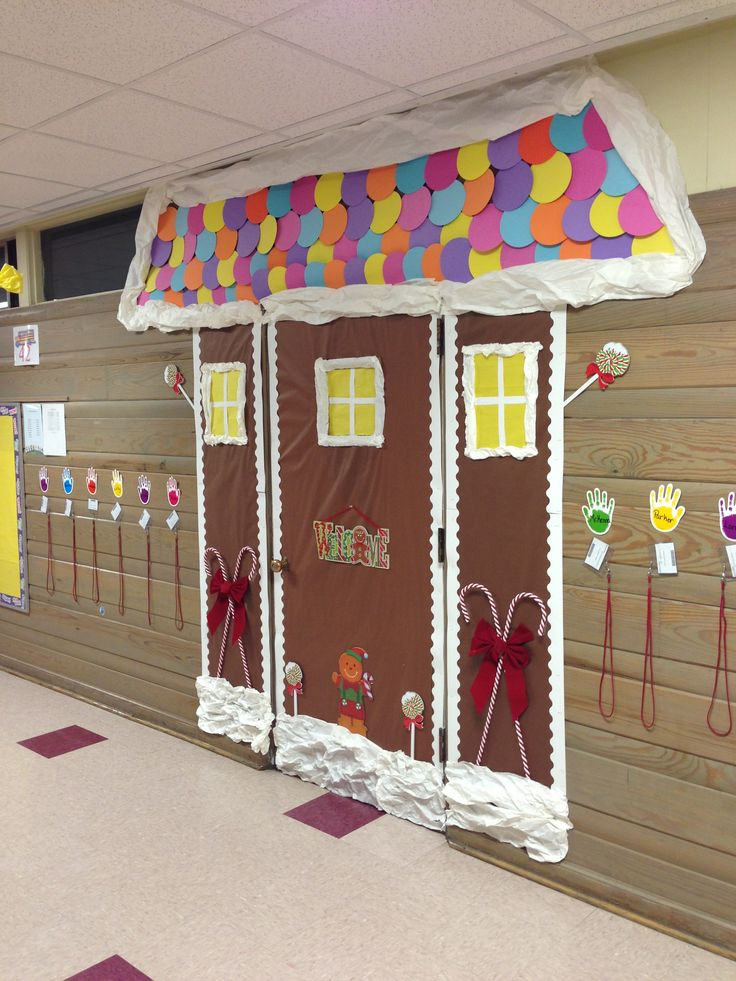 Christmas Classroom Decorations Ideas : Door decoration for christmas classroom