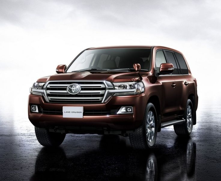 Japan: 2016 Toyota Land Cruiser 200 (facelift) launched
