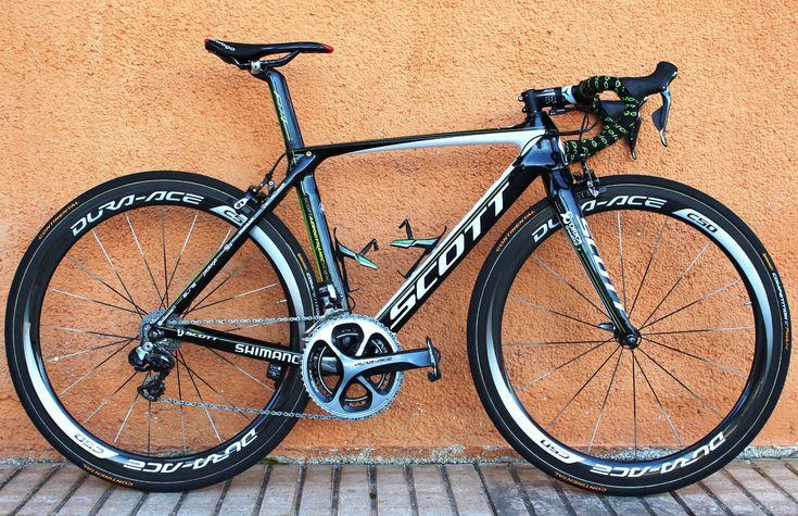 #AdamYates' #ScottFoil | Best pro bikes of 2014: Brits' bikes - Adam Yates enjoyed a stunning debut season with Orica-GreenEDGE, riding the team issue Scott Foil