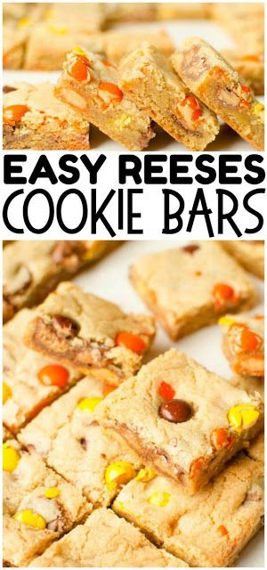 REESE'S COOKIE BARS – Today Recipes #cake #appetizer #dessert #chicken #keto