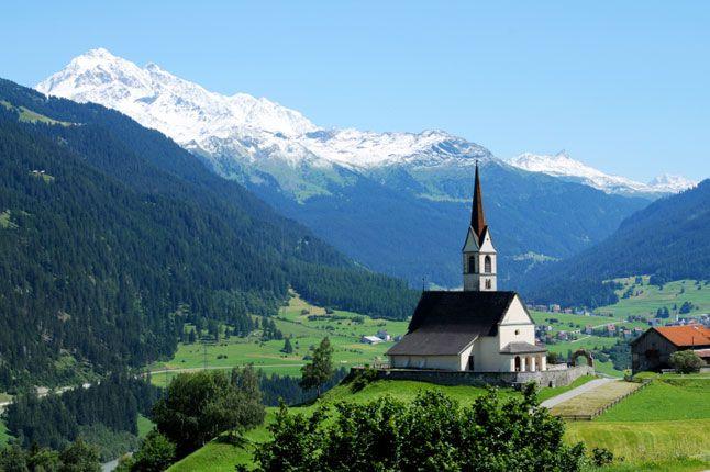 The Swiss Alps, Switzerland: Bucket List, Idea, Favorite Places, Church, Alps Switzerland, Search, Swiss Alps, Travel