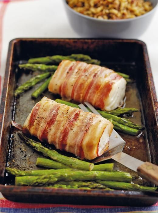 Roasted Cod Loin wrapped in Pancetta recipe from Clever One Pot cookbook